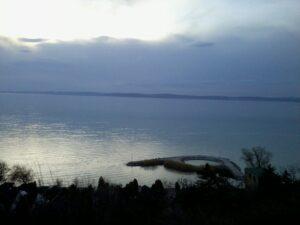 Balatonsjön är stilla